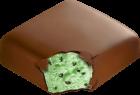 mint chocolate chip bar
